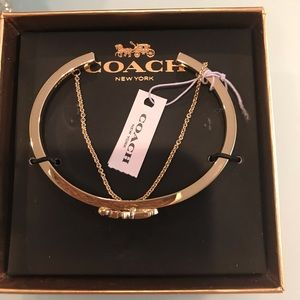 Horse And Carriage Coach Double Chain Cuff